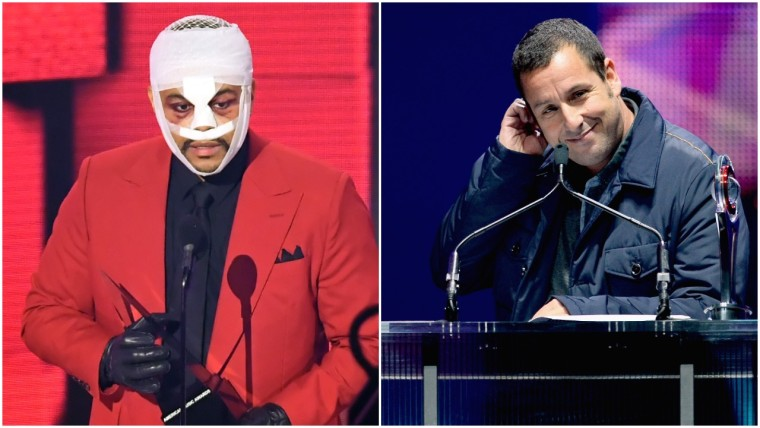 Snubbed by The Grammys, The Weeknd must take the Adam Sandler route and get even hornier