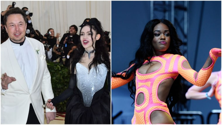 "Azealia Banks says Grimes abandoned her in ""pork skin"" Elon Musk's house"