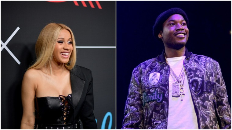 Cardi B and Meek Mill have reportedly worked on music together