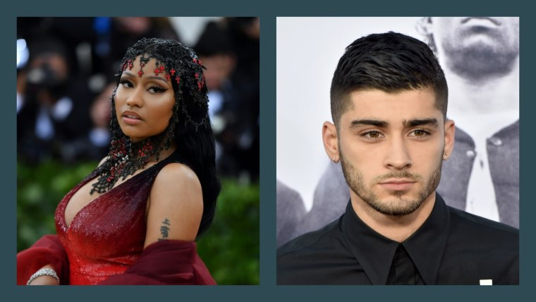 Zayn teases new Nicki Minaj collab