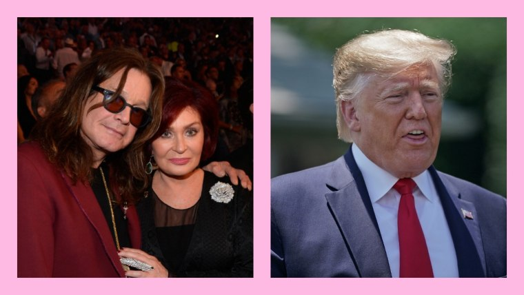 "Sharon and Ozzy Osbourne condemn Trump's use of ""Crazy Train"""