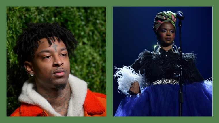 "21 Savage almost sampled Lauryn Hill's ""Ex Factor"" on ""Letter 2 My Momma"""