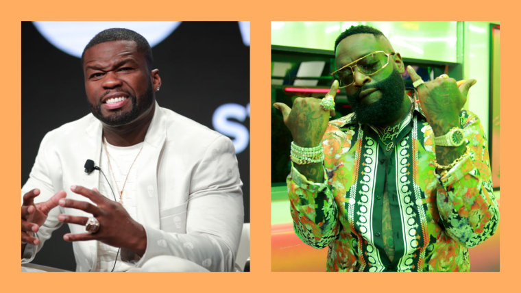 50 Cent fires back at Rick Ross as pair's long-standing beef is revived