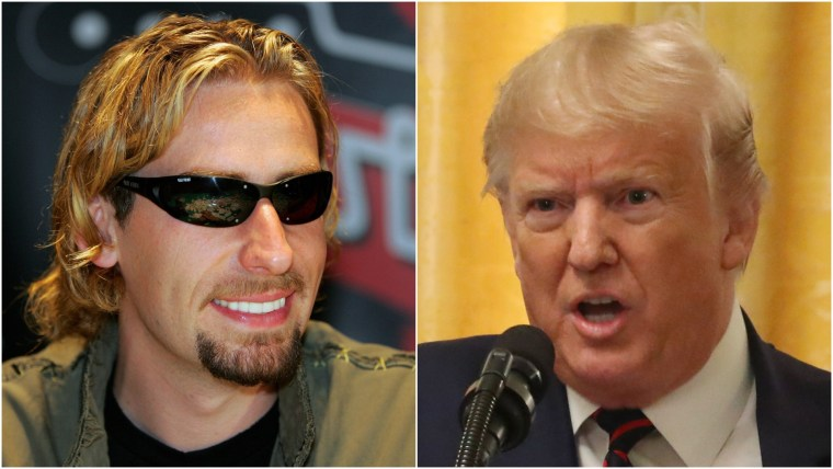 Donald Trump's Nickelback meme removed from Twitter after copyright complaint