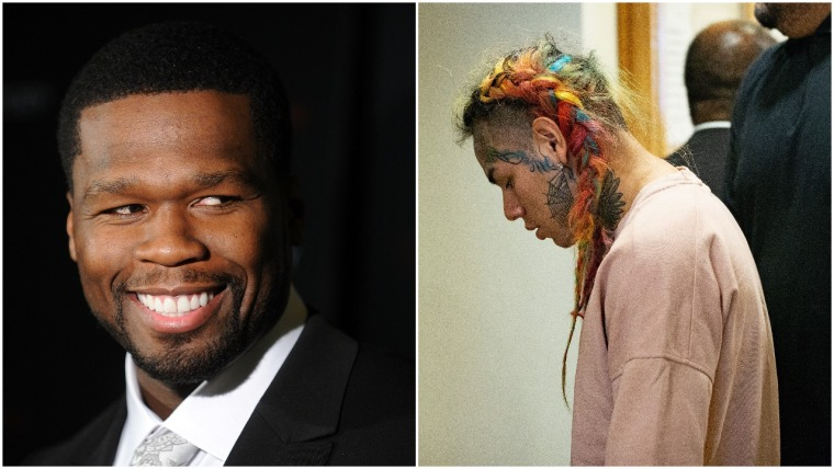 Report: 50 Cent is producing a 6ix9ine documentary