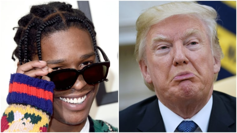 A$AP Rocky keeps popping up in Trump's impeachment hearings