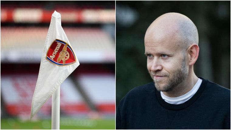 Spotify CEO Daniel Ek says he wants to buy Arsenal FC
