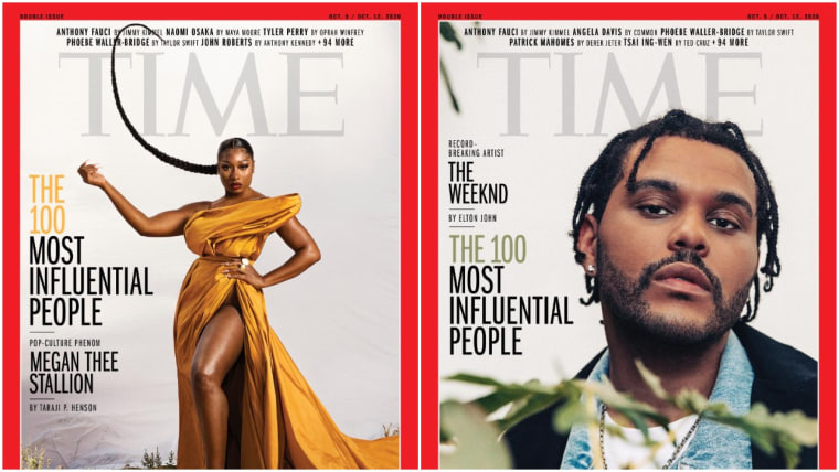Megan Thee Stallion, The Weeknd, Halsey make <i>TIME</i> 100 list