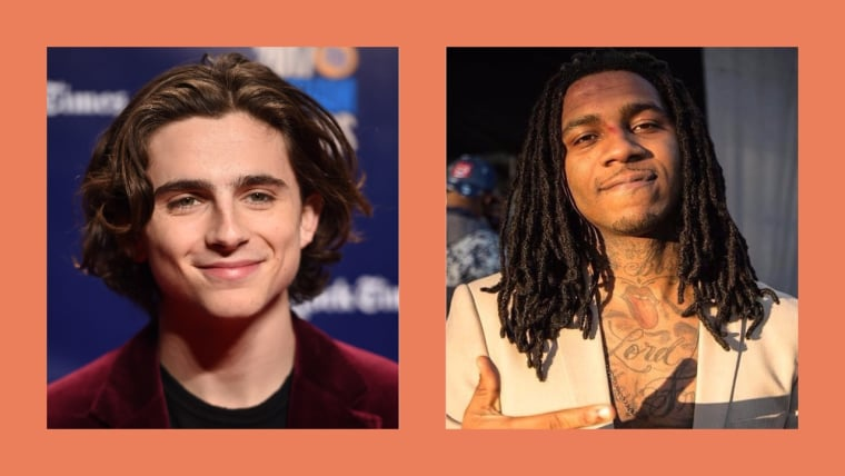 Please watch this video of <i>Call Me By Your Name</i>'s Timothée Chalamet getting knighted by Lil B