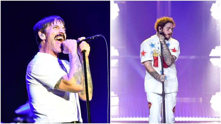 Watch Post Malone and the Red Hot Chili Peppers perform at the 2019 Grammys