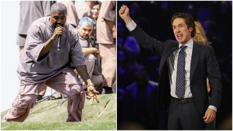 Report: Kanye West could soon attend a service at Joel Osteen's church