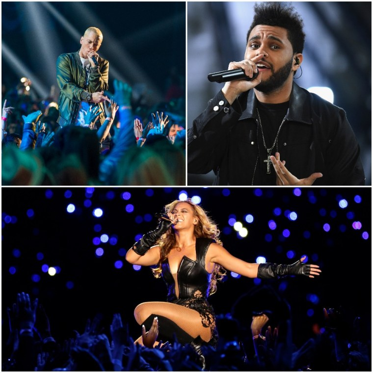 Beyoncé, Eminem, and The Weeknd will reportedly headline Coachella 2018