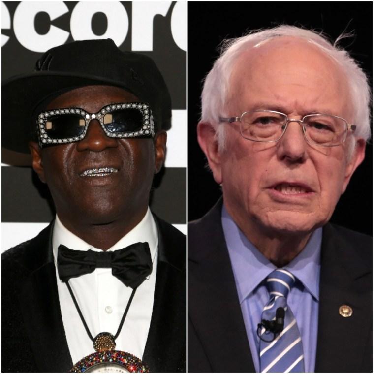 Flavor Flav sends Bernie Sanders a cease & desist over Public Enemy rally