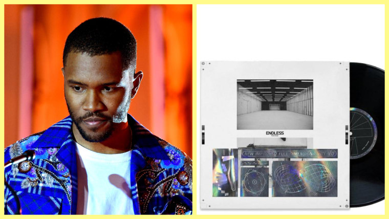 Frank Ocean announces release of <I>Endless</i> on CD and vinyl