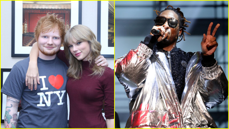 Taylor Swift's <I>reputation</i> includes a collaboration with Future and Ed Sheeran