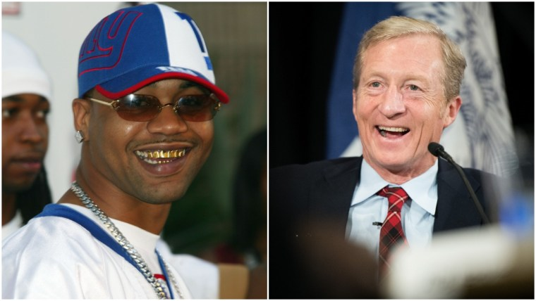 """Watch Juvenile perform """"Back That Azz Up"""" with Tom Steyer"""
