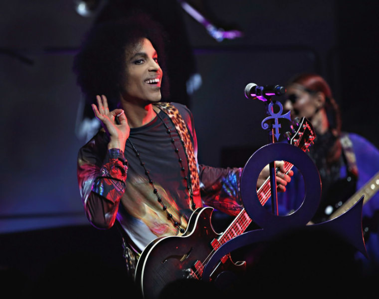 Prince Tops The Billboard Albums Chart This Week