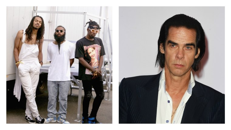There's an unreleased Flatbush Zombies and Nick Cave collaboration out there, somewhere