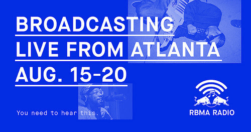 RBMA Radio Is Broadcasting From Atlanta This Week