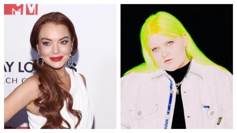 "Lindsay Lohan's new single with Alma, ""Xanax,"" is here"