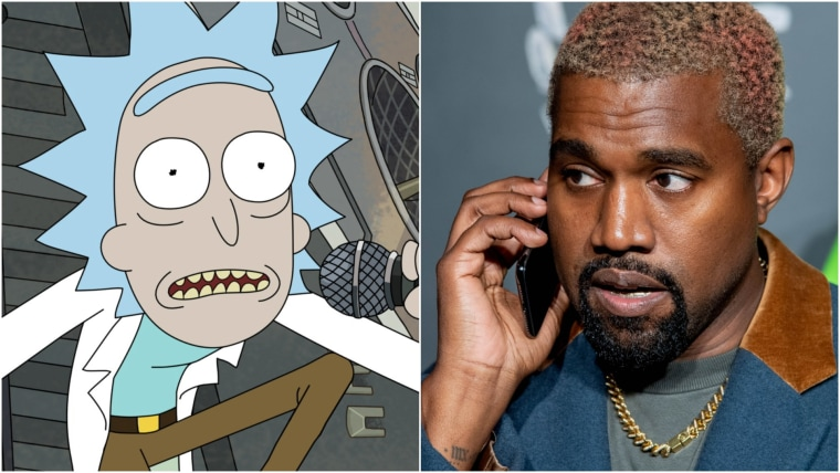This episode of Rick and Morty is brought to you by Kanye West
