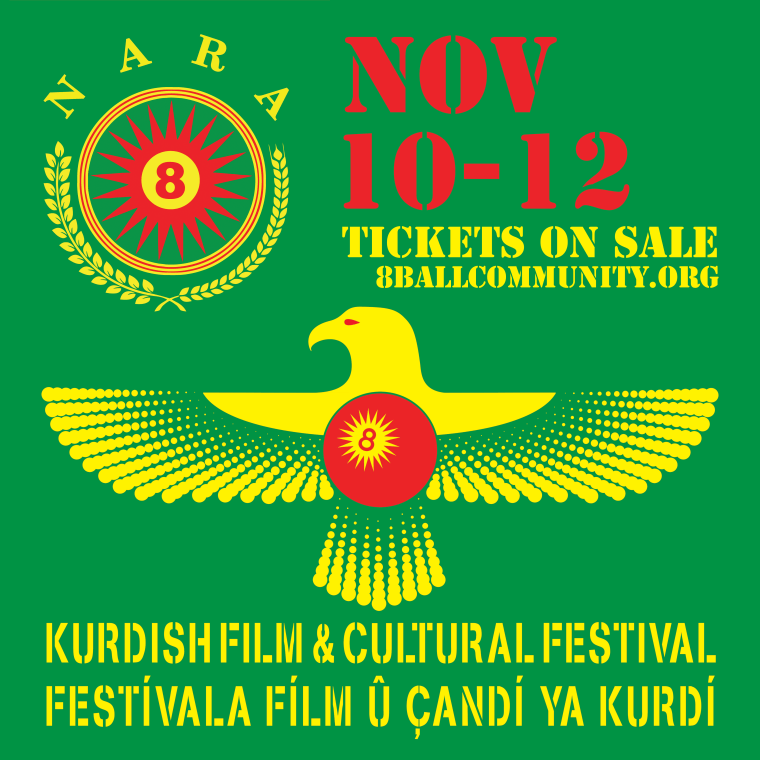 New York's 8-Ball Community to host Kurdish Film & Cultural Festival