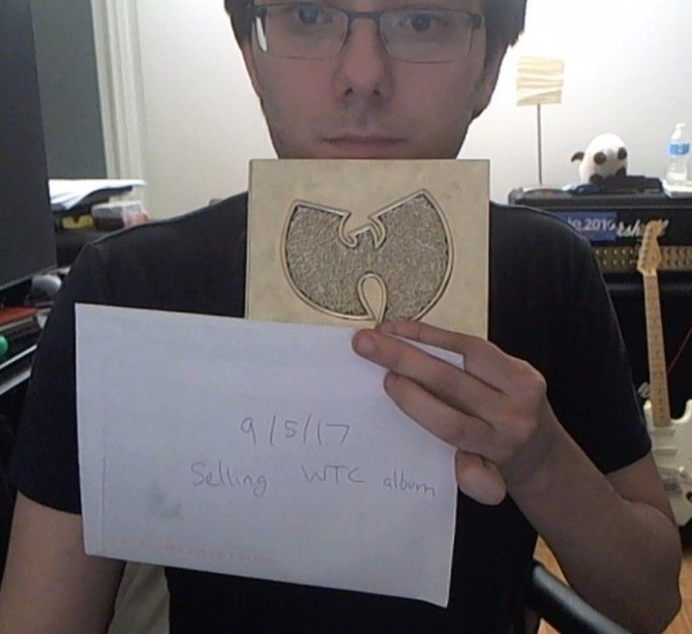It Looks Like Martin Shkreli Is Selling His Wu-Tang Clan Album On eBay
