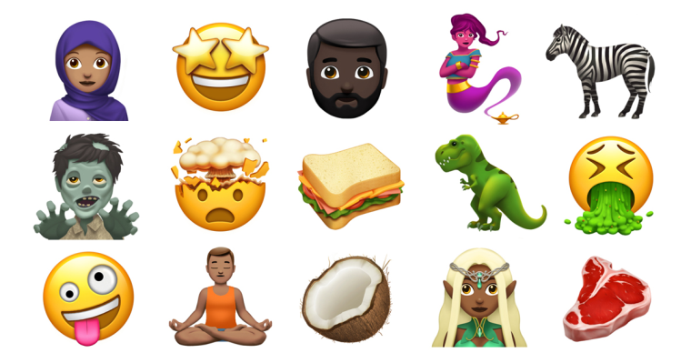 Apple's New Emoji Update Will Include Woman With Headscarf, Breastfeeding, And More