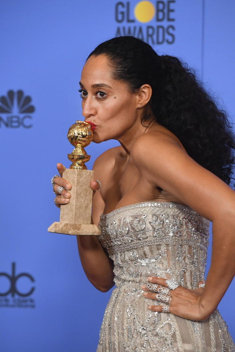 Watch Tracee Ellis Ross's Empowering Acceptance Speech At The 2017 Golden Globes