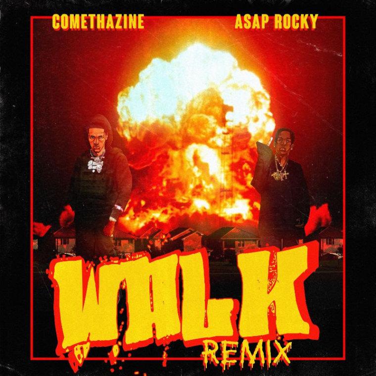 "Comethazine and A$AP Rocky share ""Walk (Remix)"""