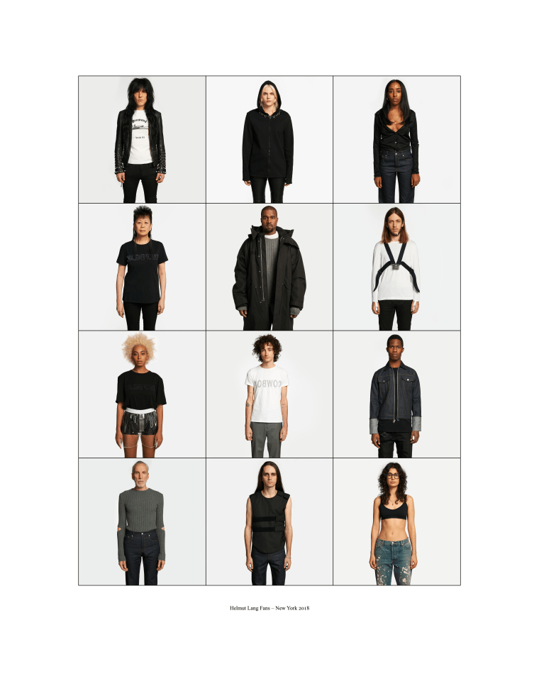 Kanye West and Solange are featured in Helmut Lang's new photo project