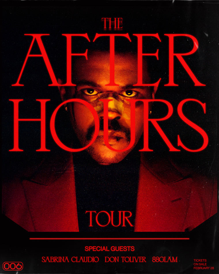 The Weeknd announces <I>After Hours</i> tour