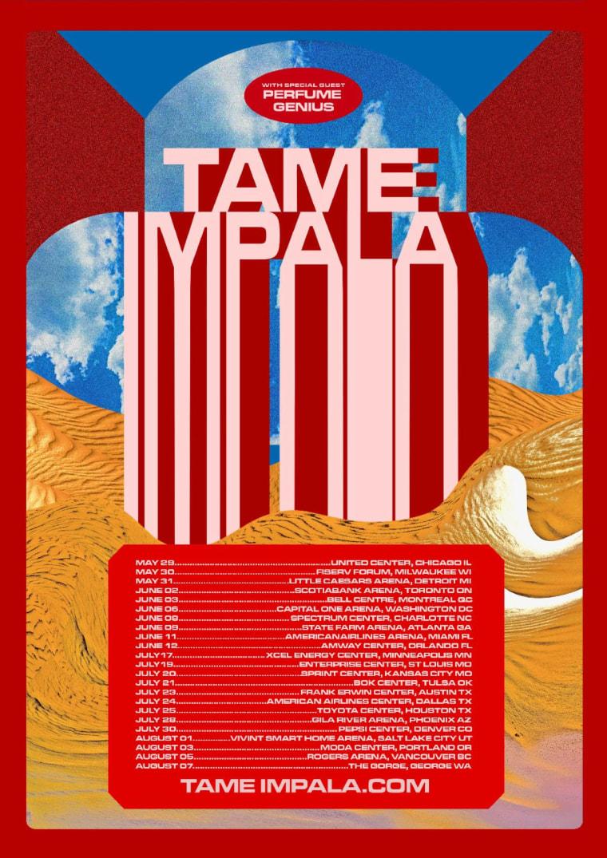 Tame Impala announce tour dates with Perfume Genius