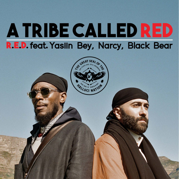 "A Tribe Called Red Shares ""R.E.D."" With Yasiin Bey, Narcy, And Black Bear"