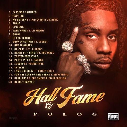 Polo G shares <i>Hall of Fame</i> tracklist