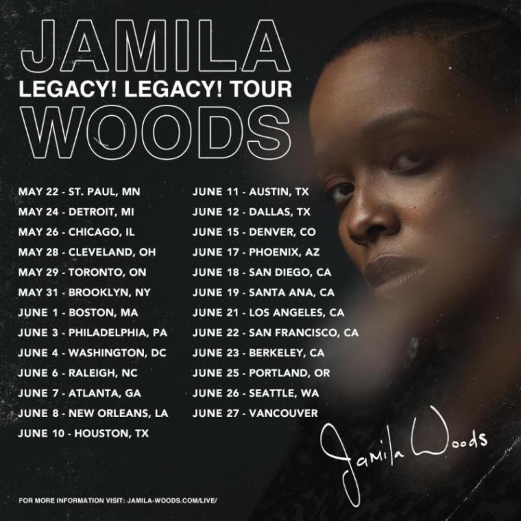 Jamila Woods shares North America tour dates