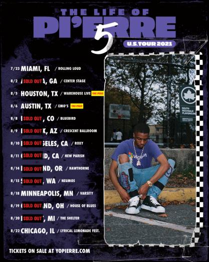 Pi'erre Bourne announces US tour
