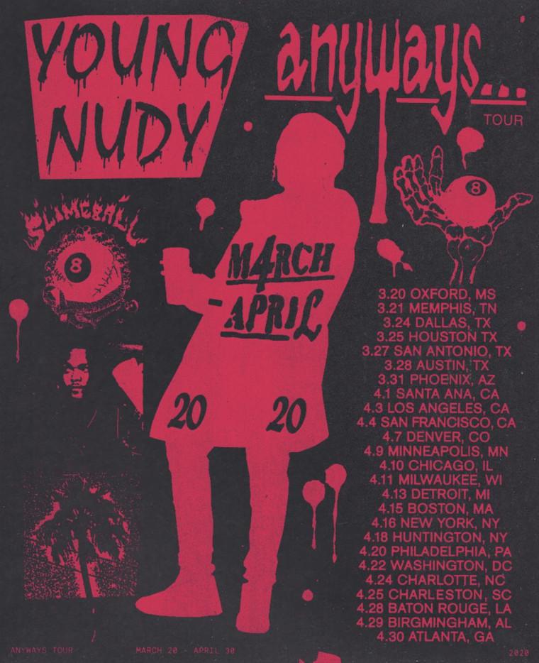 """Young Nudy shares """"No Go"""" video, announces tour"""