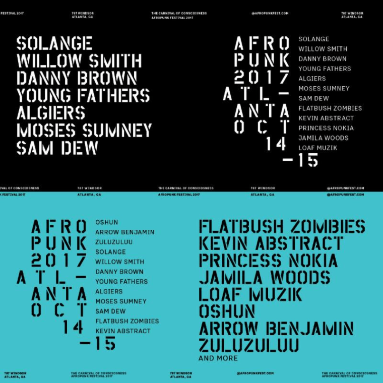 Solange, Willow Smith, Danny Brown And More To Play Afropunk Atlanta 2017