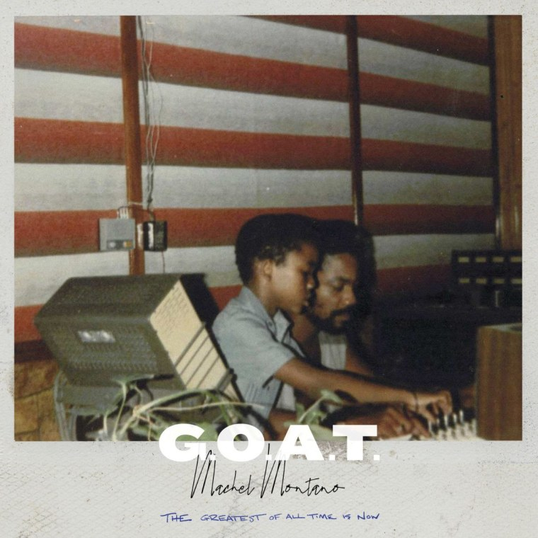 Stream Machel Montano's new album, <i>G.O.A.T.</i>