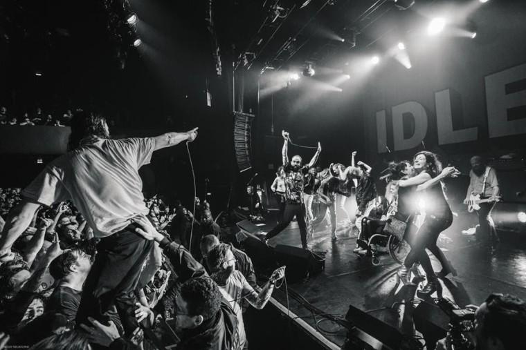 Idles announce live album <I>A Beautiful Thing</i>