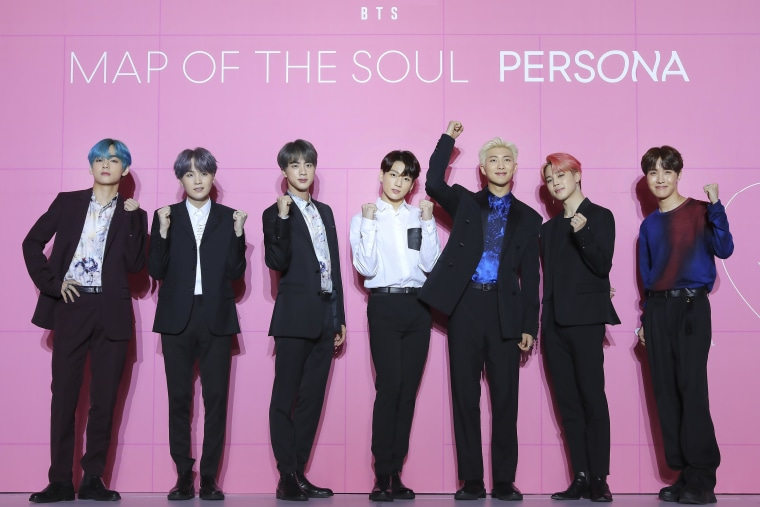 BTS Becomes 1st Korean Artist To Top UK's Official Albums Chart