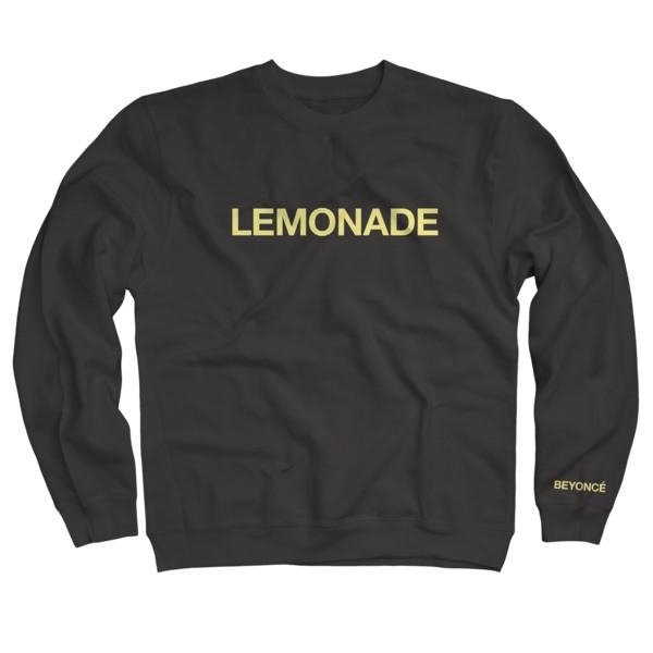 Beyoncé's <i>LEMONADE</i> Merch Is Now Available
