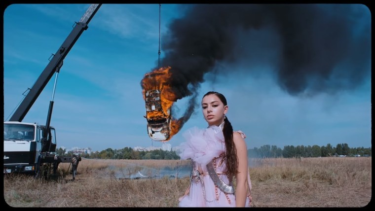 "Watch Charli XCX's video for ""White Mercedes"""