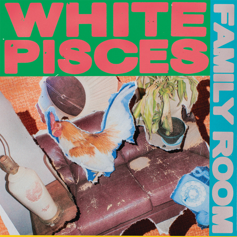 "White Pisces Shares A Trippy Collaged Video For Their Fuzzy ""Free Time"""