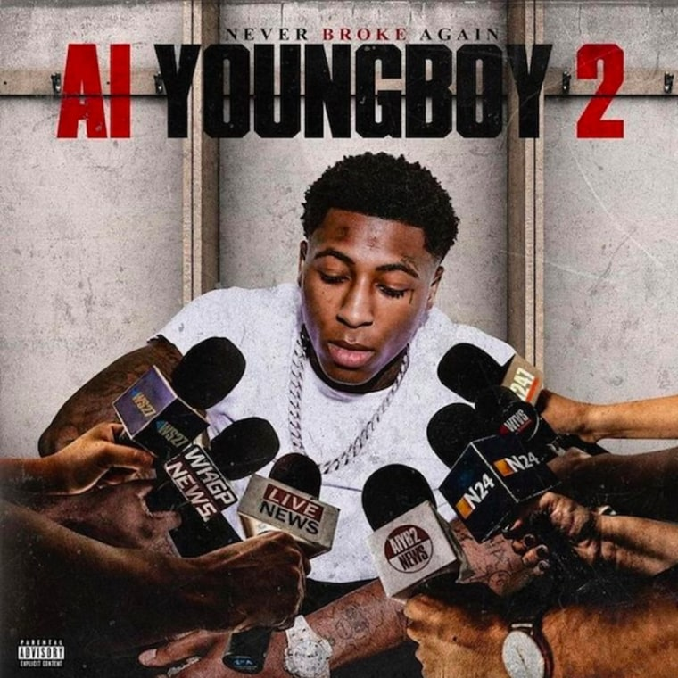 YoungBoy Never Broke Again has the No. 1 album in the country