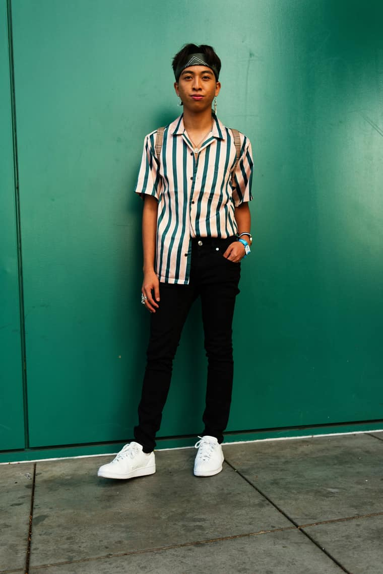 This year's KCON LA attendees were the best at sharp casual wear