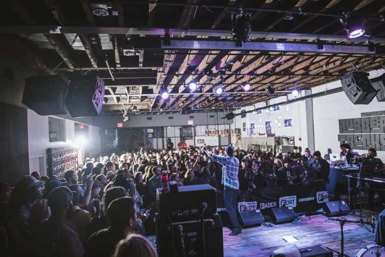 See Photos From Saturday At FADER FORT Presented By Converse In New York