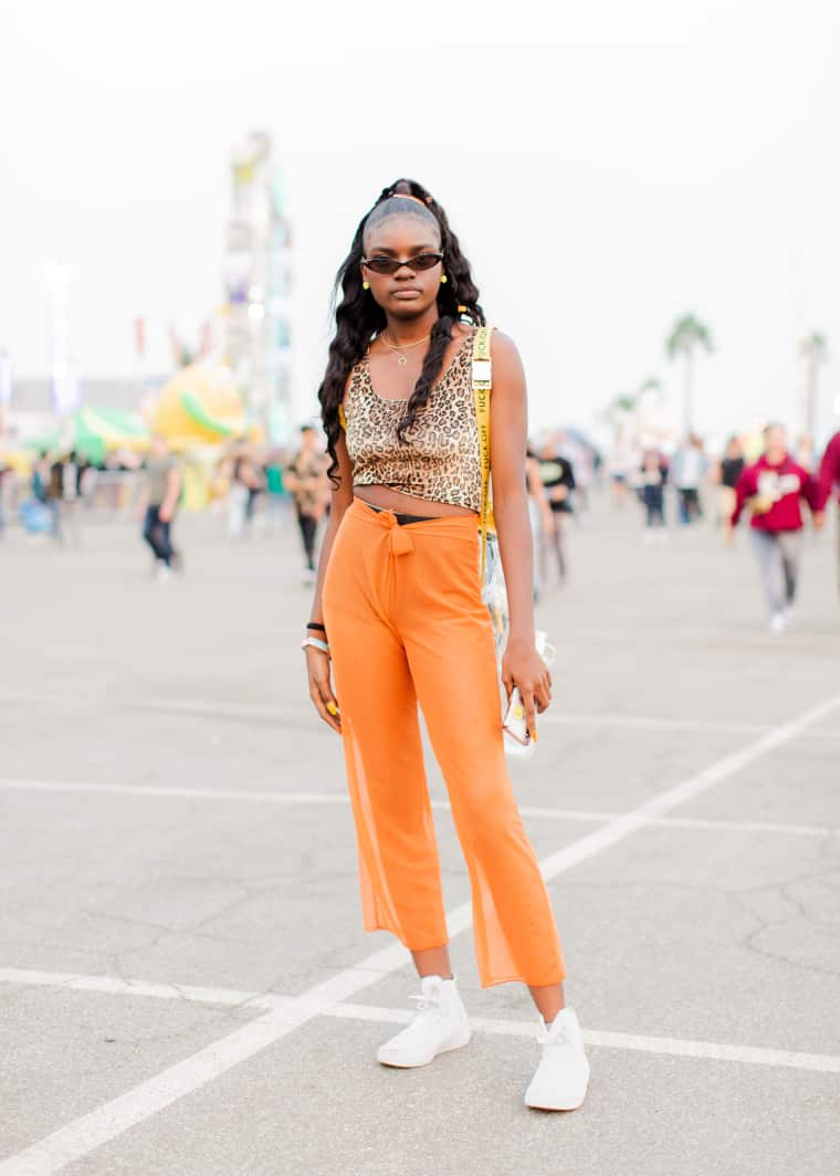 Camp Flog Gnaw attendees blended glamor and comfort perfectly