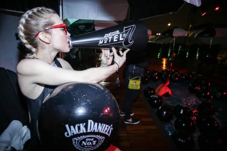 Robbie Rivera Kicks Off Jack Daniel's Motel No. 7 In Miami